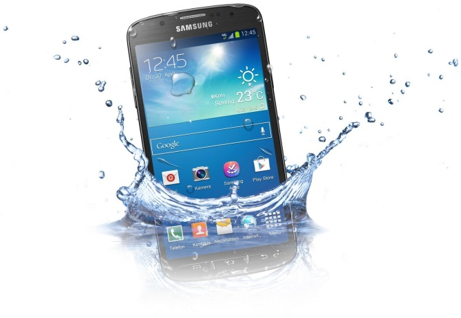 Samsung Galaxy S5 Active получит класс защиты IP68