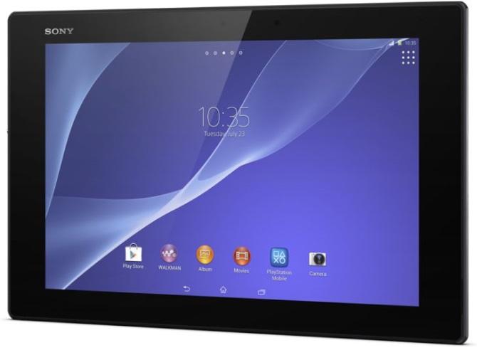 видео обзор планшета Xperia Tablet Z2