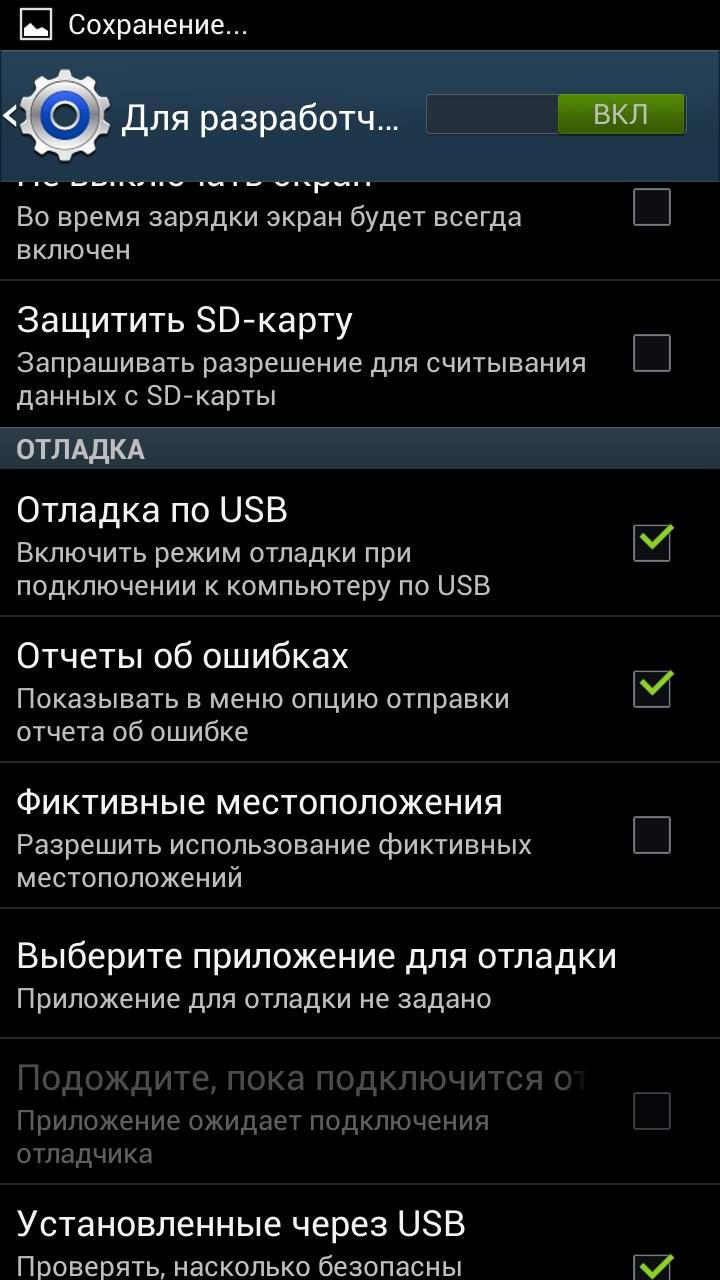 Параметры разработчика_5