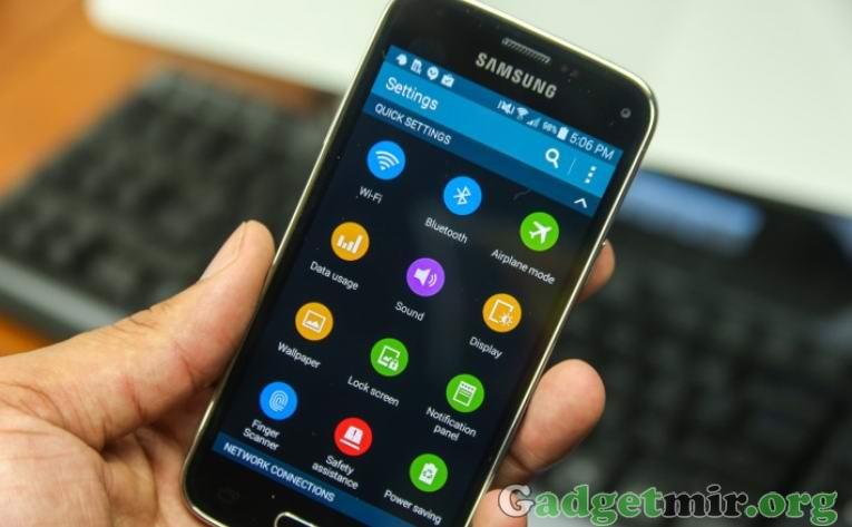 Wi-Fi на Samsung Galaxy S5 Mini_765