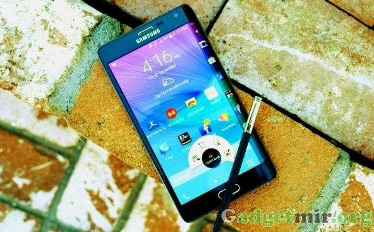 Samsung Galaxy Note Edge слабая производительность