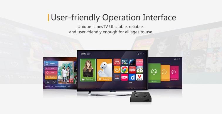 LinesTV UI