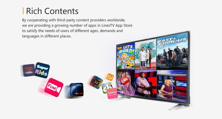 LinesTV content