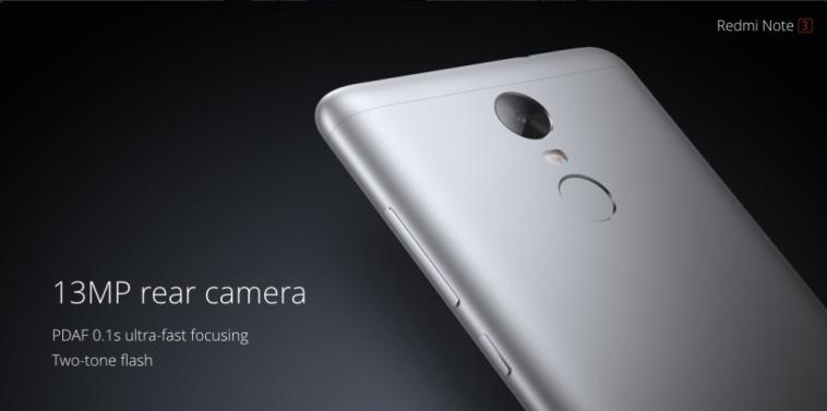 XIAOMI REDMI Note 3_camera