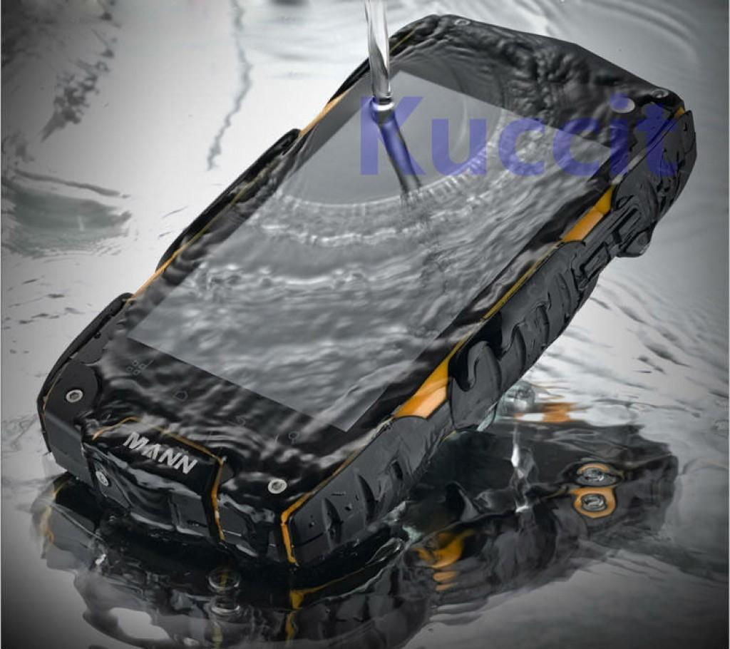 противоударных и водонепроницаемых, смартфон Mann ZUG3