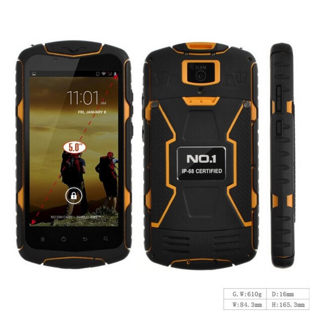 противоударных и водонепроницаемых, смартфон NO.1 X1