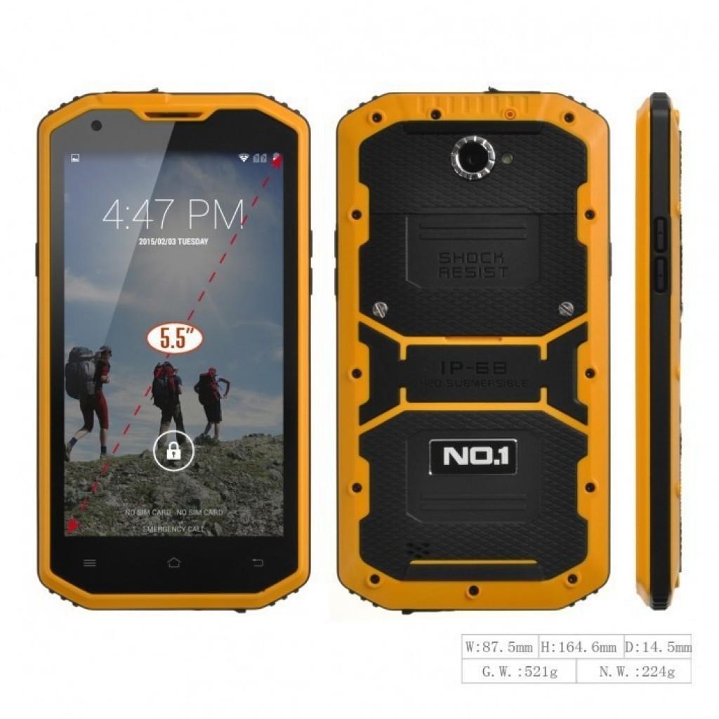 противоударных и водонепроницаемых, смартфон No.1 X2