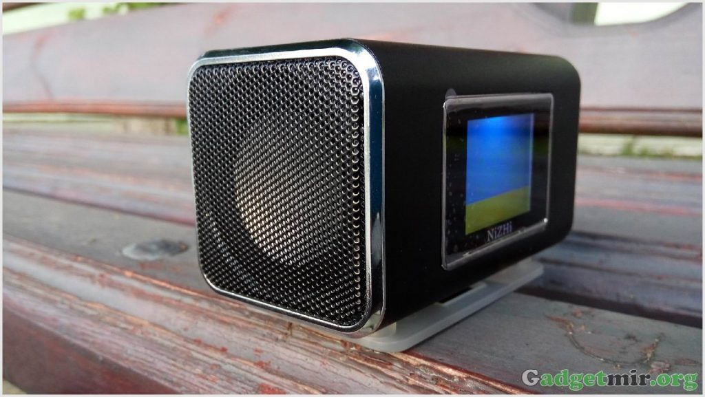 NiZhi TT6, mp3-плеер, фм радио, гаджет, музыка, колонка, mp3 player, music speaker, portable speaker, digital sound box, fm radio