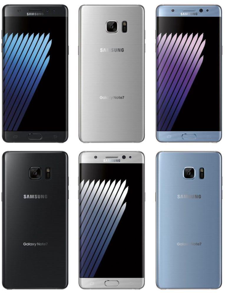 технические характеристики Galaxy Note 7