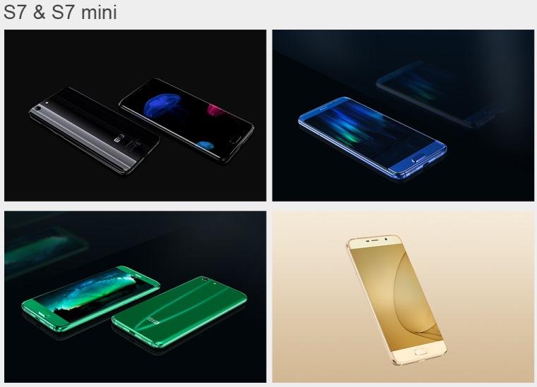 elephone s7 and s7mini