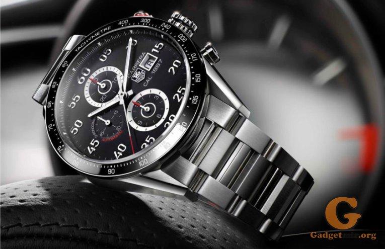 TAG Heuer, смартчасы, умные часы, гаджет