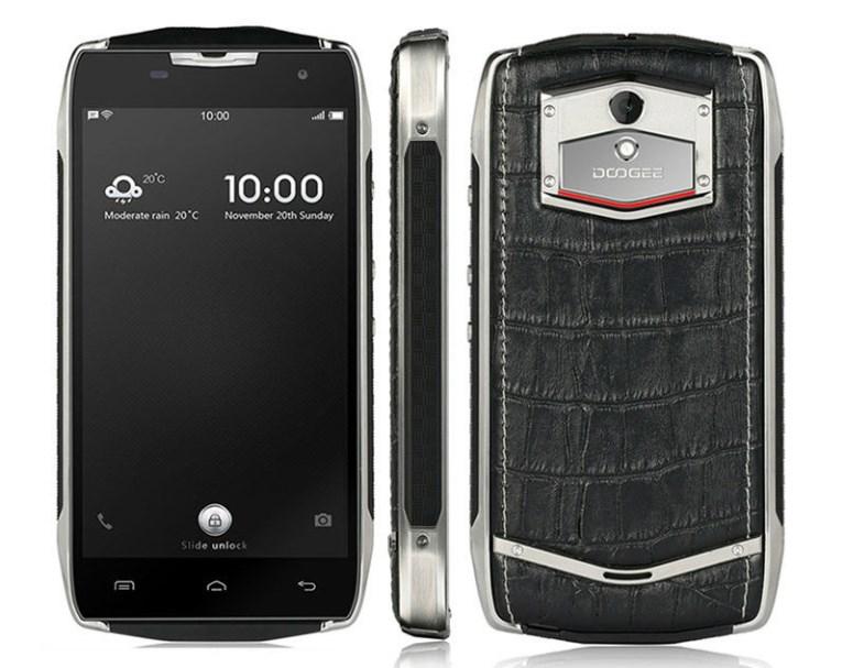 геометрические размеры телефона Doogee T5S