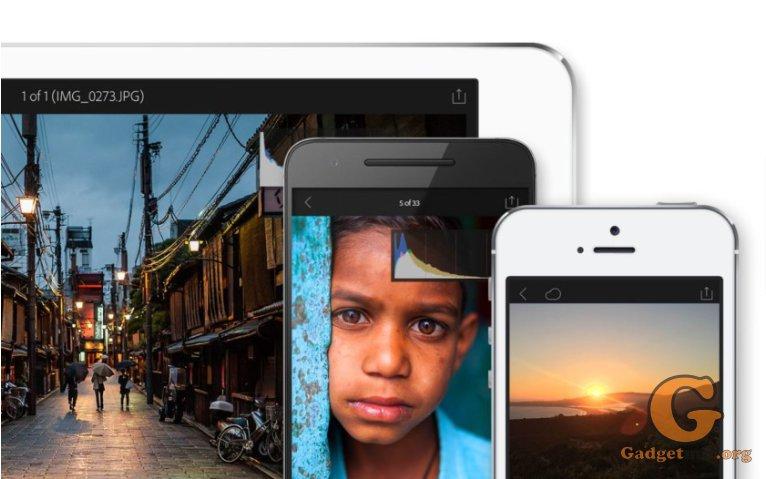 Lightroom Mobile, Adobe, приложение, инструменты