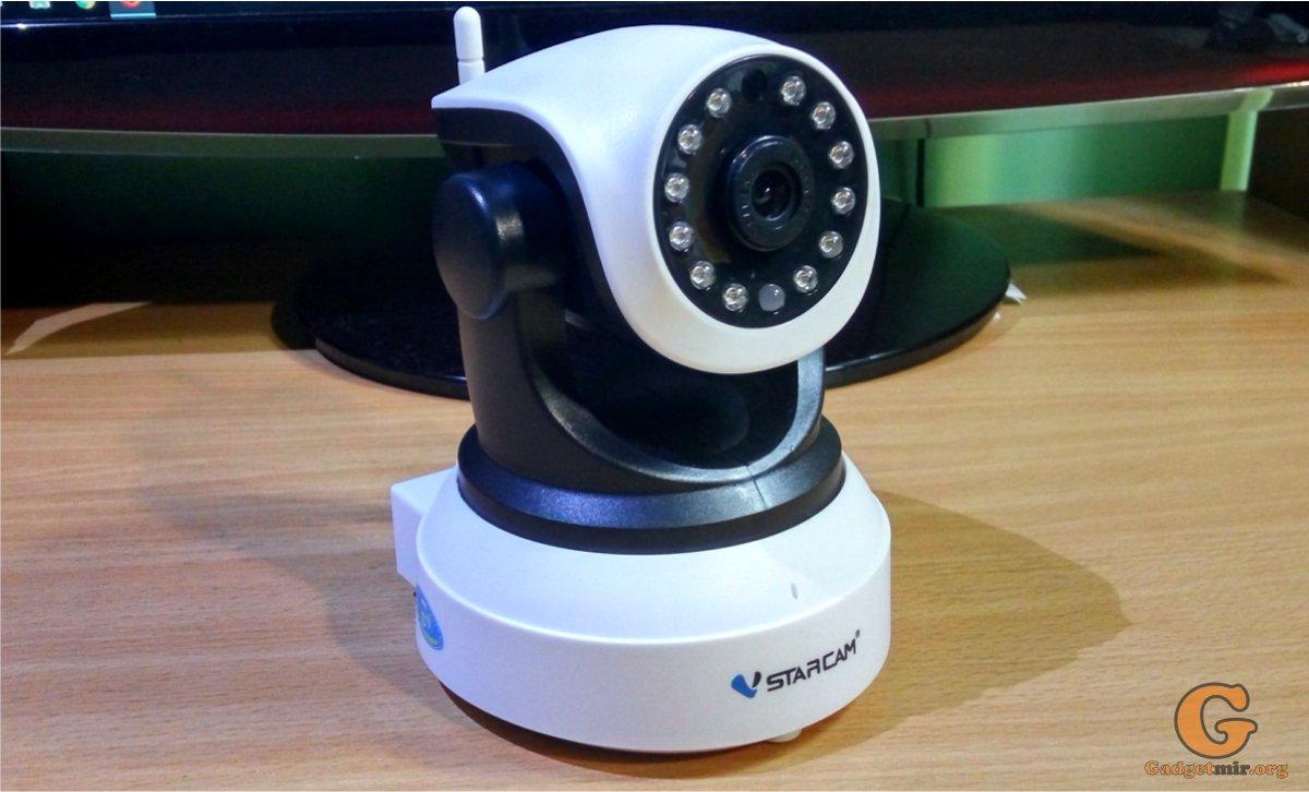 IP-камера, Vstarcam, обзор, гаджет, радио няня, видео няня