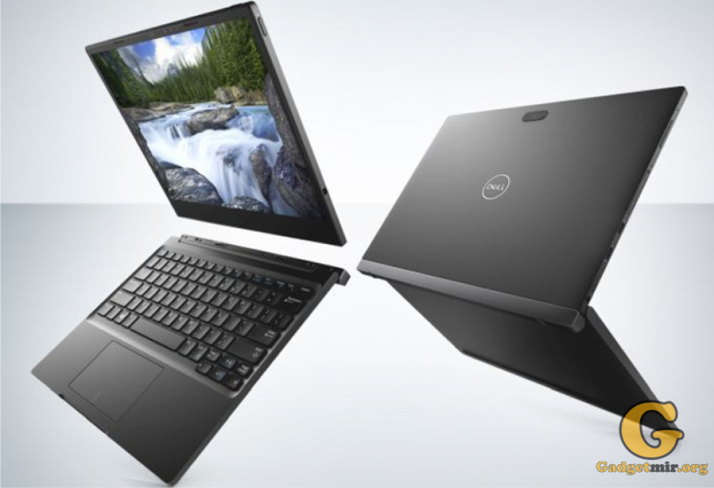 Latitude 7285, Dell, ноутбук, беспроводная зарядка, гаджет