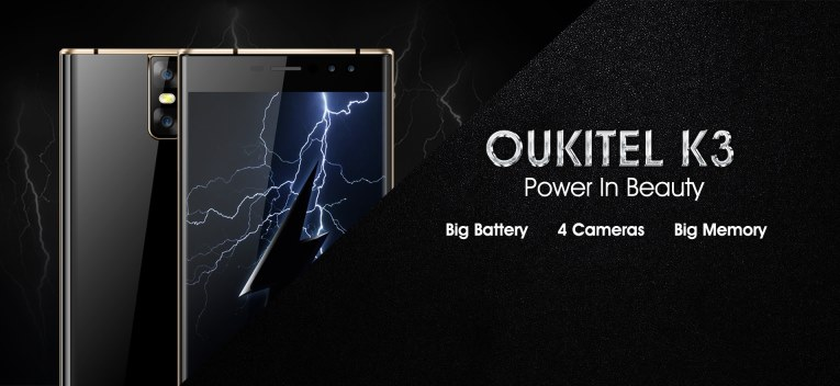 Oukitel K3 смартфон
