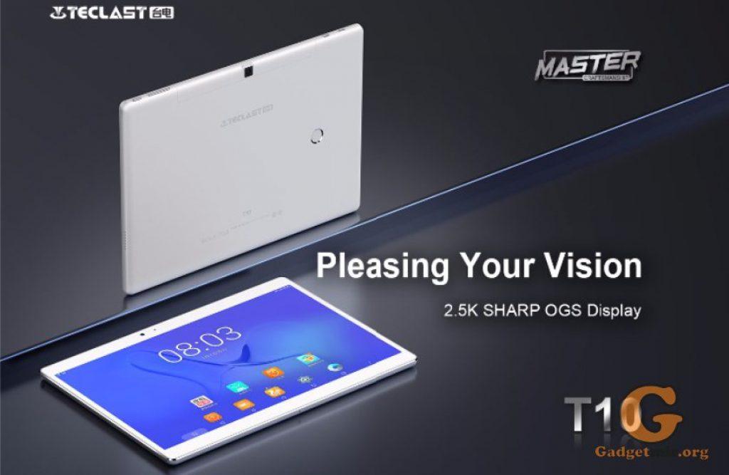 Teclast T10, Teclast, планшет, Helio X30, Android 7.0, акции, GearBest