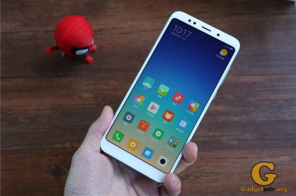 Xiaomi Redmi 5 Plus, Xiaomi, смартфон, Snapdragon 625, Bluetooth v5.0, Android 7, телефон, купить