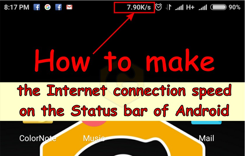 Internet Speed Meter Lite, apps, How to, instruction, smartphone