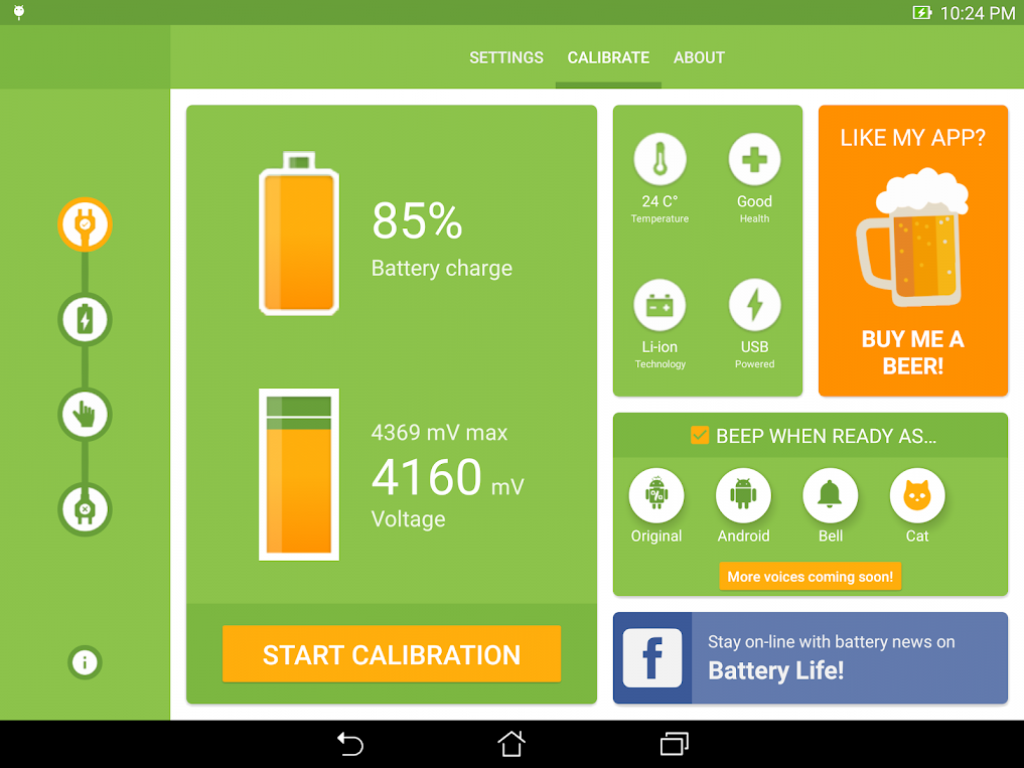 calibrate the level of charge, calibrate the level of battery, calibration, Android, smartphone, battery, settings, instructions, power consumption, optimization, Calibrate battery level on Android