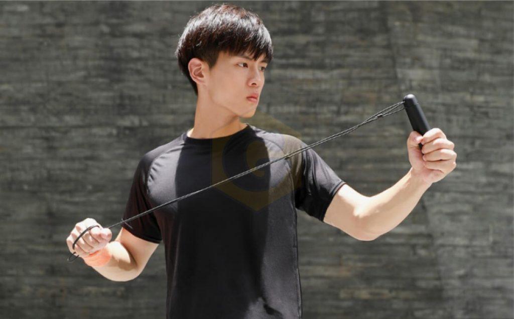 Умная скакалка Xiaomi Yunmai, девайс, гаджет, электронная скакалка Xiaomi Yunmai, Xiaomi Yunmai
