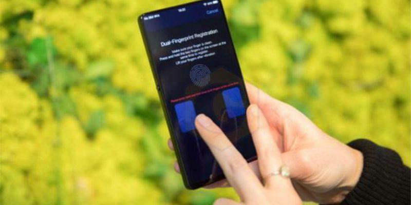 Прорыв в технологии отпечатков пальцев вместе с Vivo