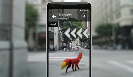Будущее уже здесь, с новой функцией AR на Google Maps