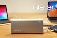 Довольно мощный повербанк AlsterPlus может одновременно заряжать несколько устройств