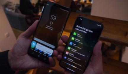 Samsung Galaxy S9 vs Apple iPhone X [обзор]