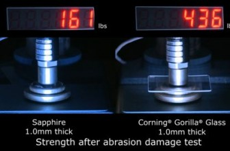 Corning Gorilla Glass vs. Sapphire. Битва экранных стекол