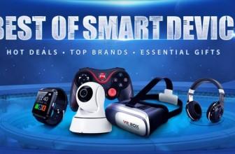 Декабрь богат на свежие предложения умных гаджетов от GearBest.com