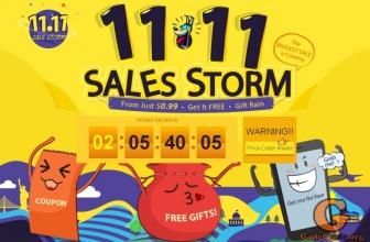 11.11 Всемирный день шопинга в магазине GearBest