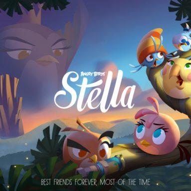 Rovio готовит серьезны апгрейд боевых птичек — Angry Birds Stella
