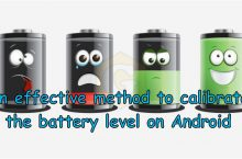 Battery calibration on Android Smartphone