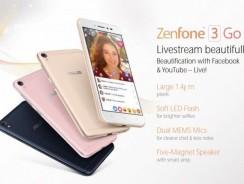 Недорогой Asus Zenfone 3 Go получил чип Snapdragon 410 и 2 Гб оперативной памяти