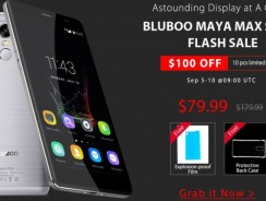 Gearbest «валит» цены на смартфон Bluboo Maya Max [$79.99]