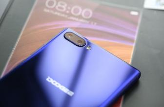 Doogee MIX – первый гелио смартфон на базе процессора Helio P25
