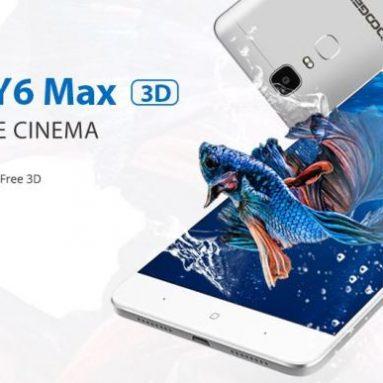 Doogee Y6 Max: портативный домашний кинотеатр по заниженной цене $159.99