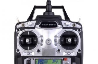 Flysky FS-T6: шестиканальный пульт дистанционного радиоуправления