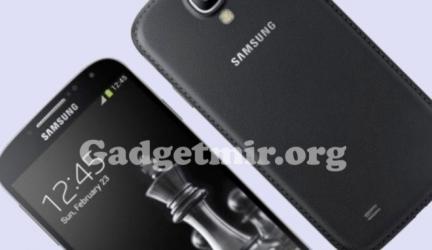 Galaxy S4 Black Edition появится на мобильном рынке с февраля месяца