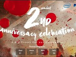 Gearbest празднует 2-ю годовщину!!!