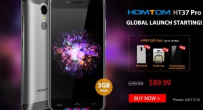 Свежее акционное предложение по смартфону Homtom HT37 Pro
