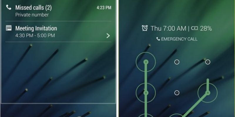 HTC Lock Screen (экран блокировки) из Sense 6 теперь можно скачать на Google Play