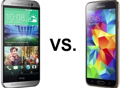 HTC One (M8) vs. Samsung Galaxy S5