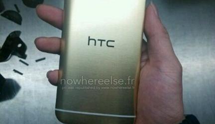 Реальные фото «золотого» HTC One (M9)