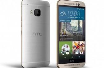 HTC One M9: официальные фото и характеристики
