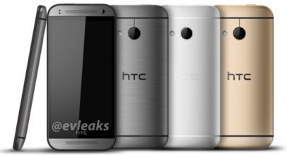 Первое изображение смартфона HTC One Mini 2 и его характеристики