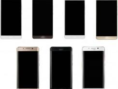 Новинка Huawei Mate 9 «засветился» с обычным и изогнутым экранами