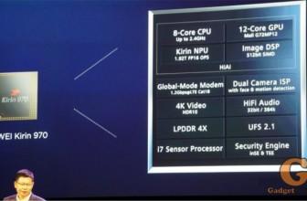 Huawei анонсировал Kirin 970 – новый процессор с возможностями AI