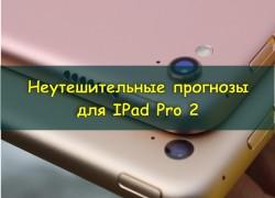 Неутешительные прогнозы для IPad Pro 2
